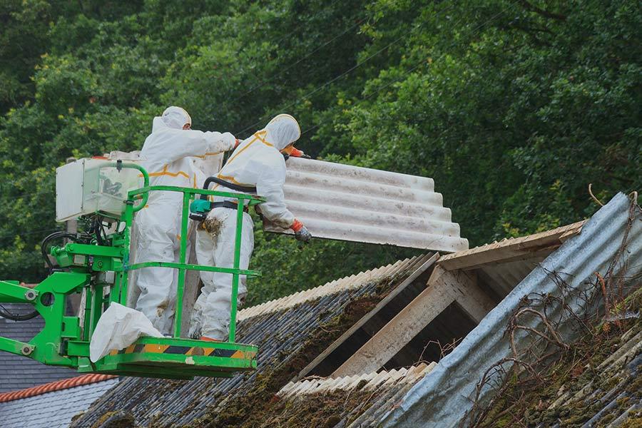 Removing hazardous materials